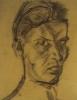 Herbert Zeitner,  Selbstportrait, 1919.